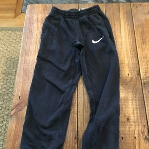 Nike Youth Black Joggers Pockets Size Y Med